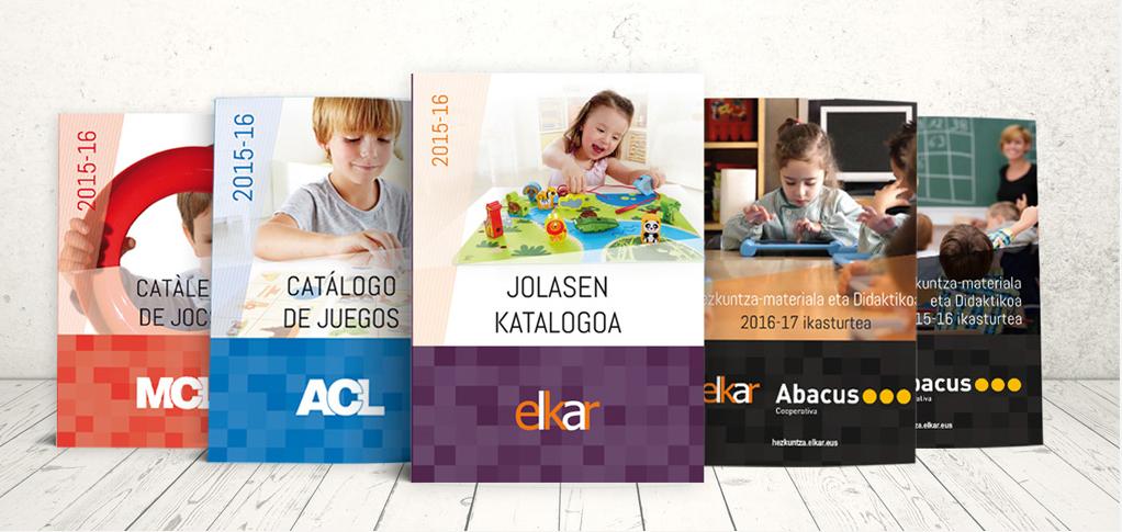 Catálogos comerciales Elkar
